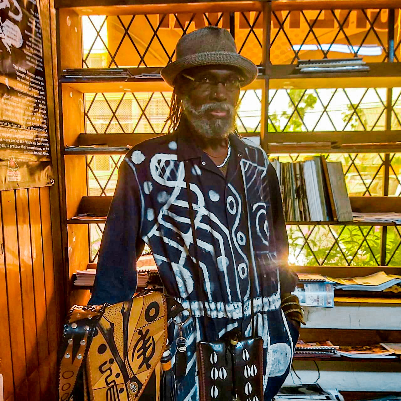 Omidiran Khali Kwodwo Keyi Ogun'la'de' – I am a Vessel through which the Spirit of Kreativity flows.