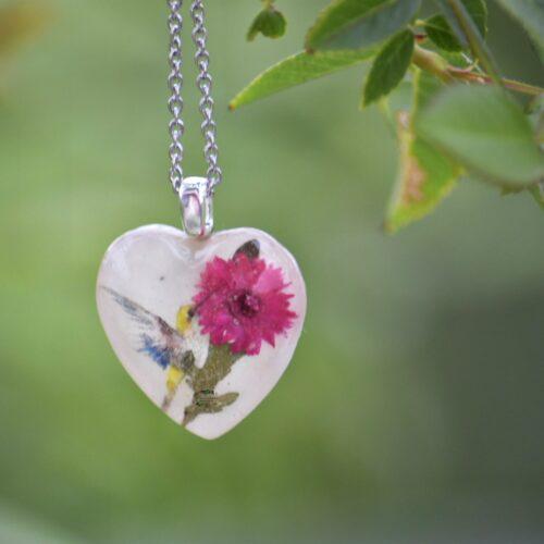 Hummingbird Garden Pendant