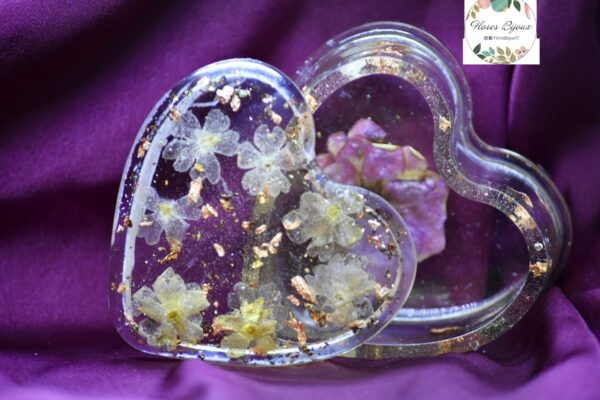 Heart Shaped Trinket Jewelry Box
